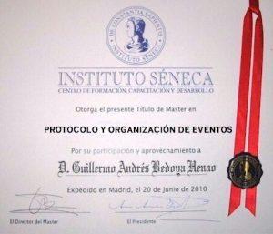 MÁSTER PROTOCOLO Y ORGANIZACIÓN DE EVENTOS