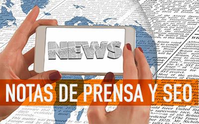 Notas de Prensa y SEO Másteres y Cursos de Comunicación